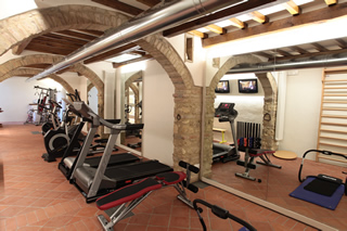 San Gimignano hotel with gymnasium